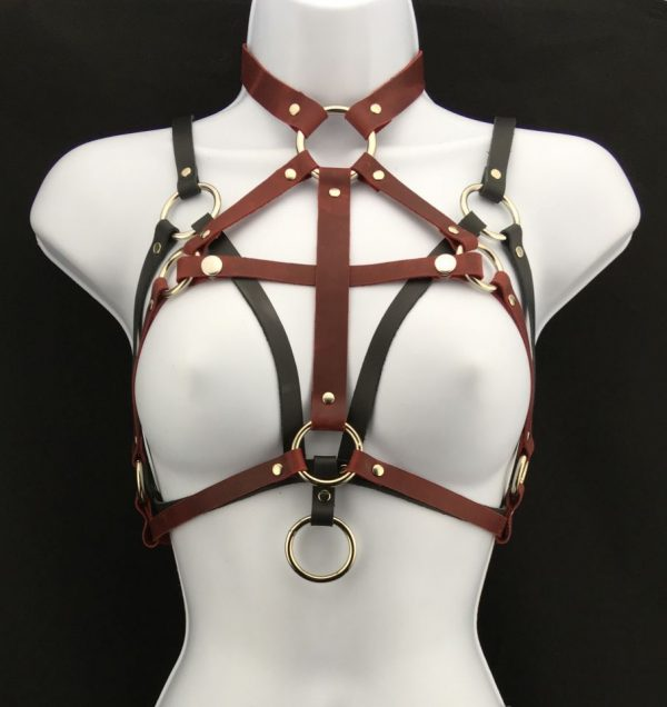 Simple bralette & queen harness