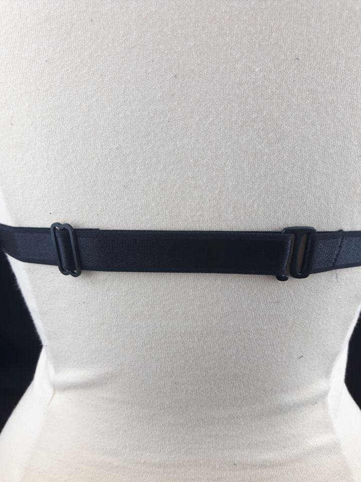 Crossfader Black Elastic Strap Body Harness