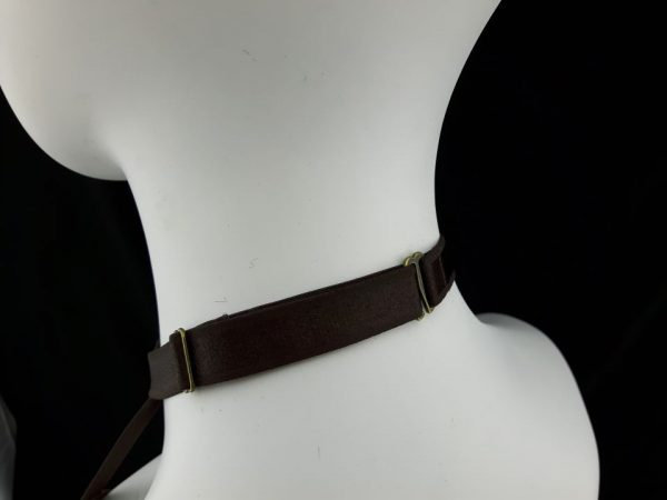 Crossfader Brown Elastic Strap Body Harness