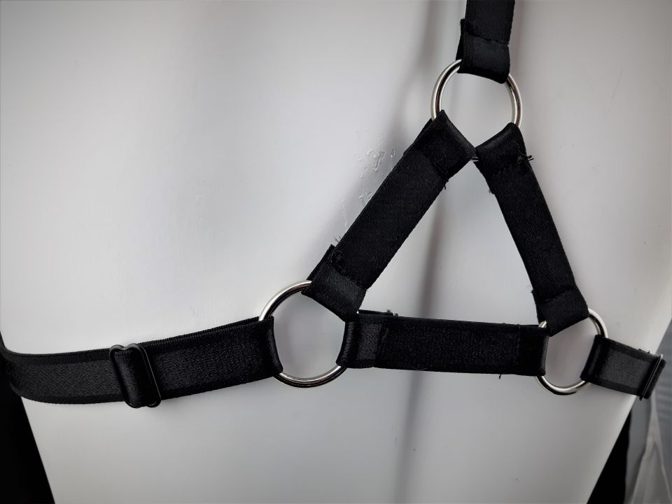 Kinky Complex Elastic Body Harness