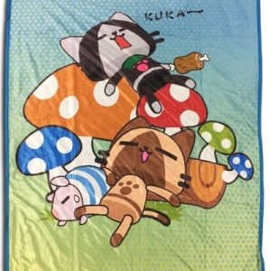 MONSTER HUNTER - NAPTIME SUBLIMATION THROW BLANKET