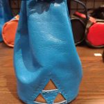 Round Base Tall Dice Bag with Triforce by Xtreme Paraphilia
