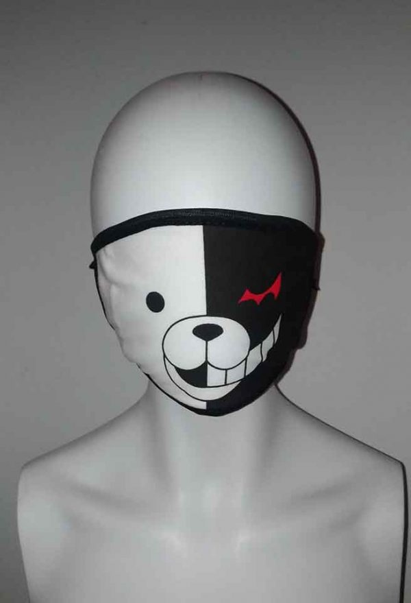 Cosplay anime bear face mask Kawaii Mask