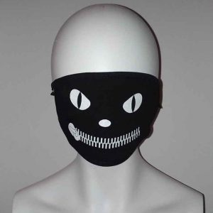 Cosplay zipper face mask Kawaii Mask