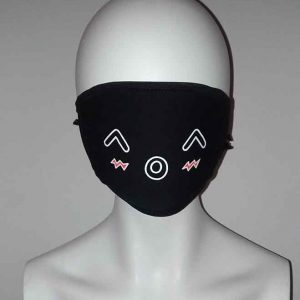 Cosplay shy face mask Kawaii Mask