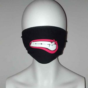 Cosplay vamp teeth face mask Kawaii Mask