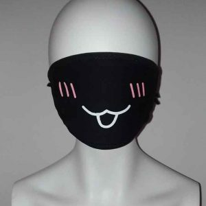 Cosplay OM Cute Smile face mask Kawaii Mask