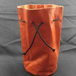 Round Base Tall Dice Bag by Xtreme Paraphilia