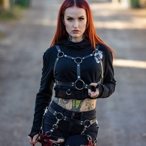 The Flexi Leather Harness