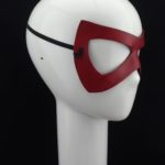 Leather Superhero Mask Cosplay Mask by Xtreme Paraphilia