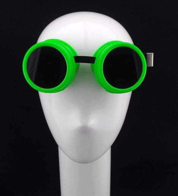 Simple Green Goggle Cosplay Accessories