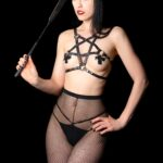 Black Pentagram Harness