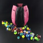 Pear-Shaped Two Colors Dice Bag by XP