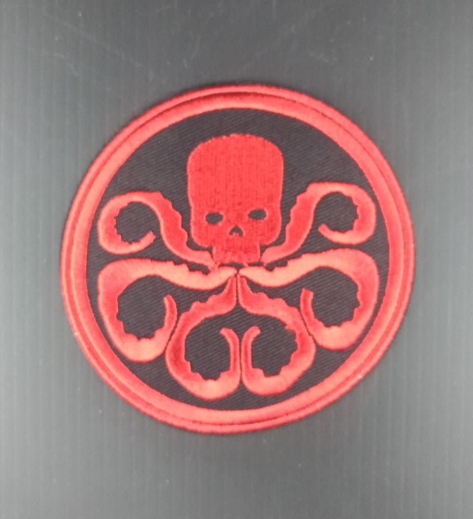 Shield Hydra Inspired Iron On Patches by XP