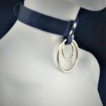 The Leather Double O-Ring Choker